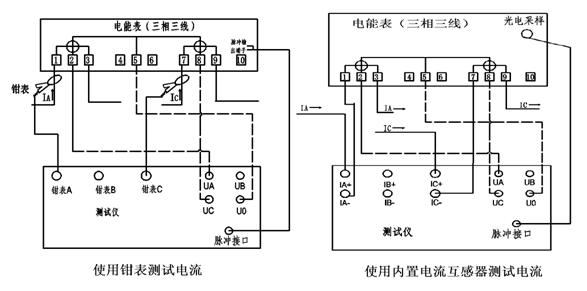 8.2 接线   (1) 校验单相电能表,如图21.